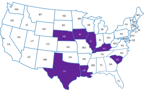 states attending Chicago summit