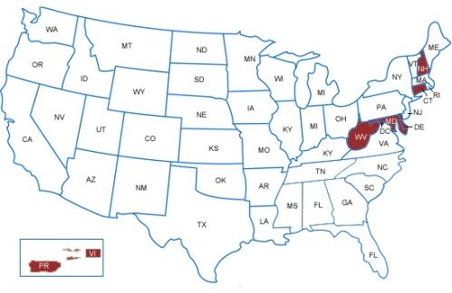 states attending Baltimore summit